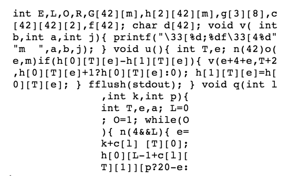 Cryptography Obfuscation